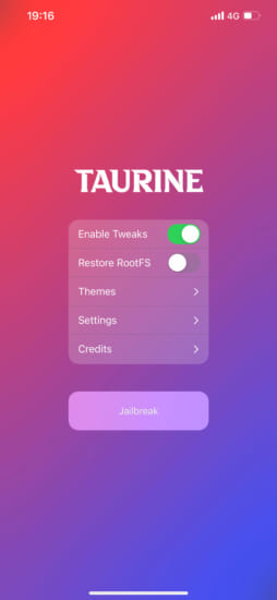 update-taurine-v104-ios14-143-jailbreak-fix-battery-life-and-userspace-reboot-2